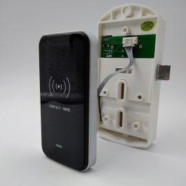 Электронный замок для шкафа с картой-браслетом